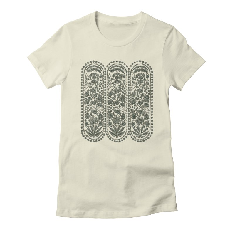 Fall Garden Feminine T-Shirt by Tato