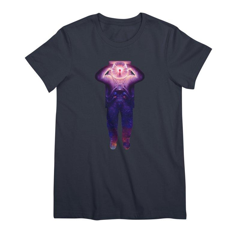 Plasmanaut Feminine T-Shirt by Tato