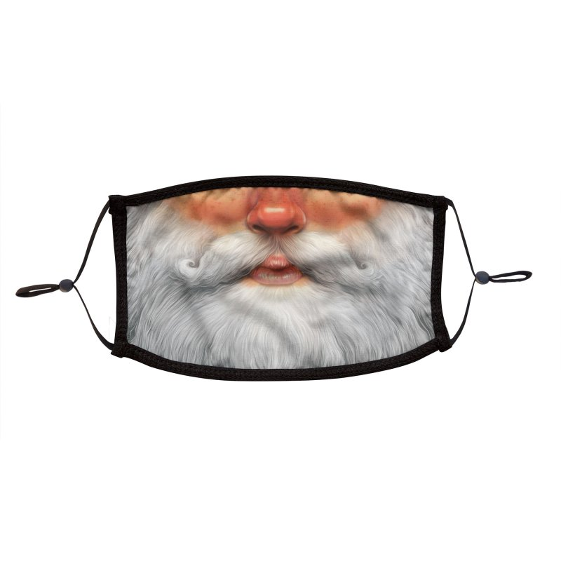 Santa Accessories Face Mask by Tato