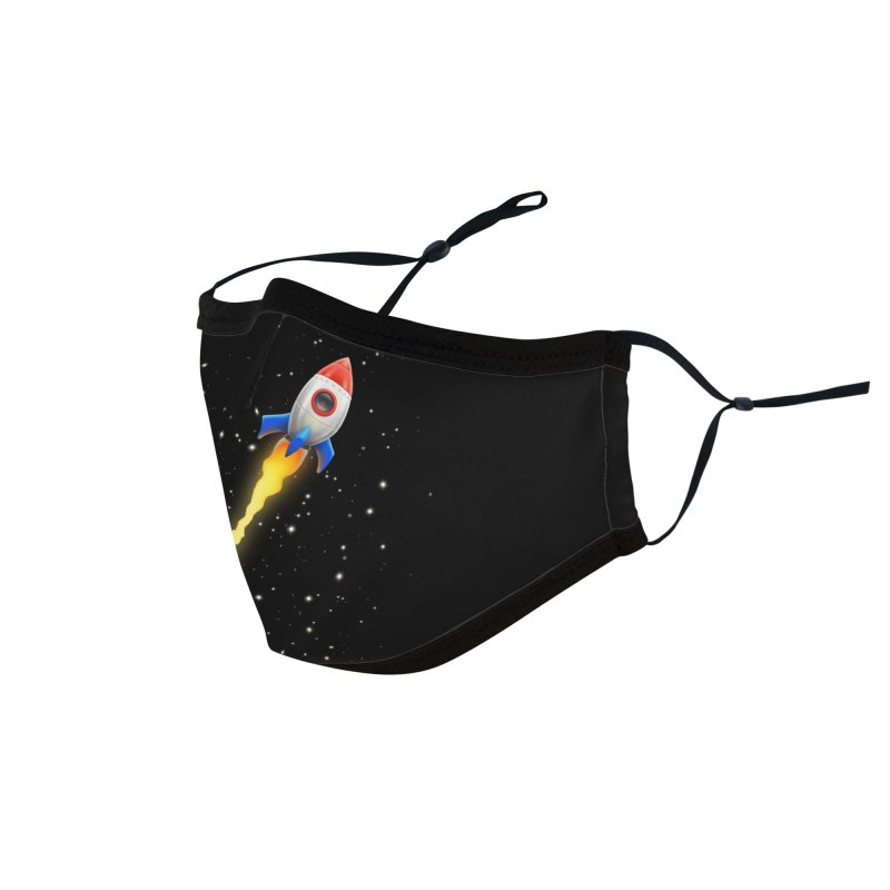 To the Moon Accessories Face Mask by Tato