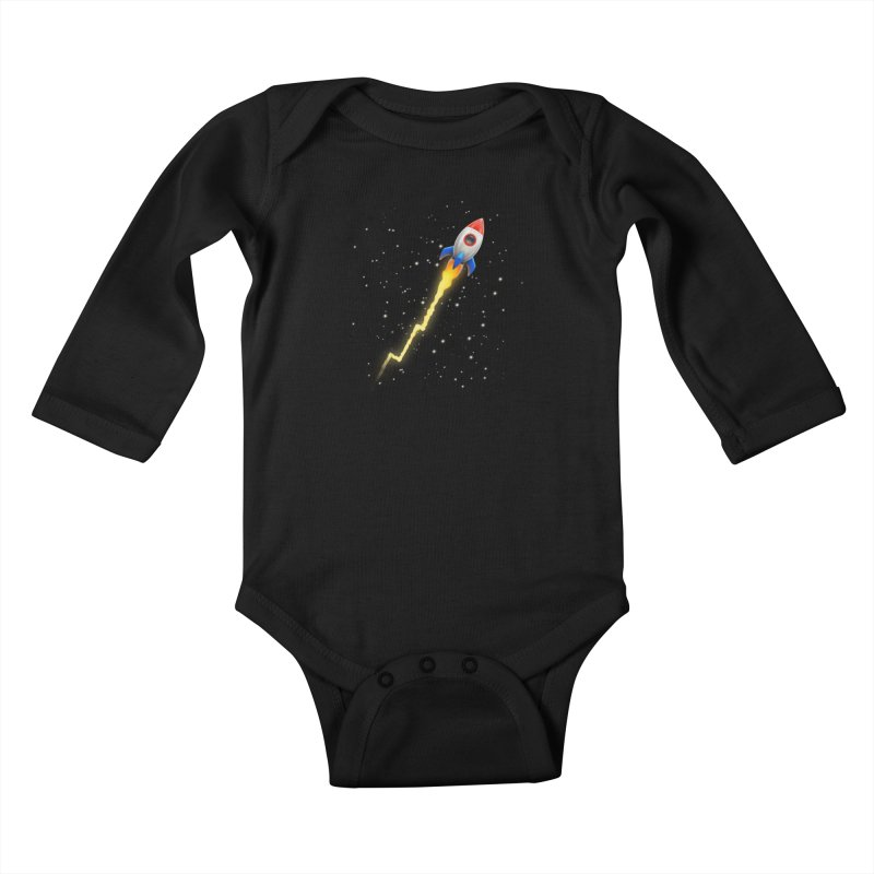To the Moon Youth Baby Longsleeve Bodysuit by Tato