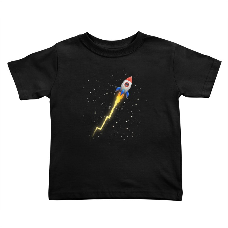 To the Moon Youth Toddler T-Shirt by Tato