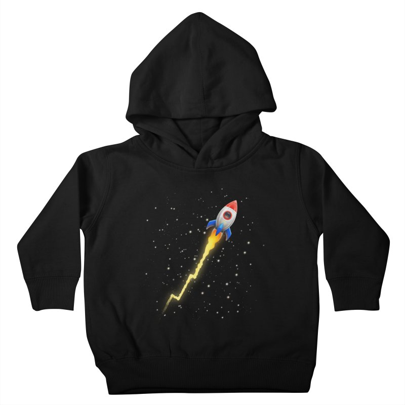 To the Moon Youth Toddler Pullover Hoody by Tato
