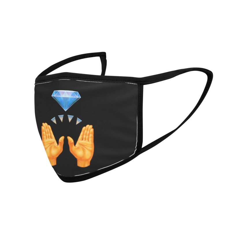 Diamond Hands Accessories Face Mask by Tato