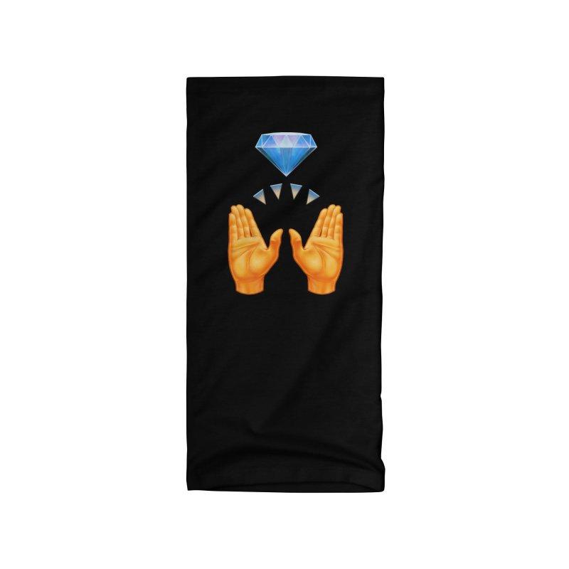 Diamond Hands Accessories Neck Gaiter by Tato