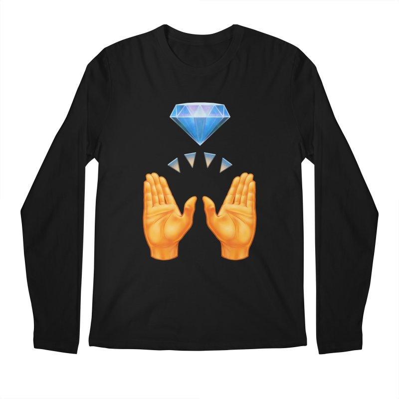 Diamond Hands All Gender Longsleeve T-Shirt by Tato