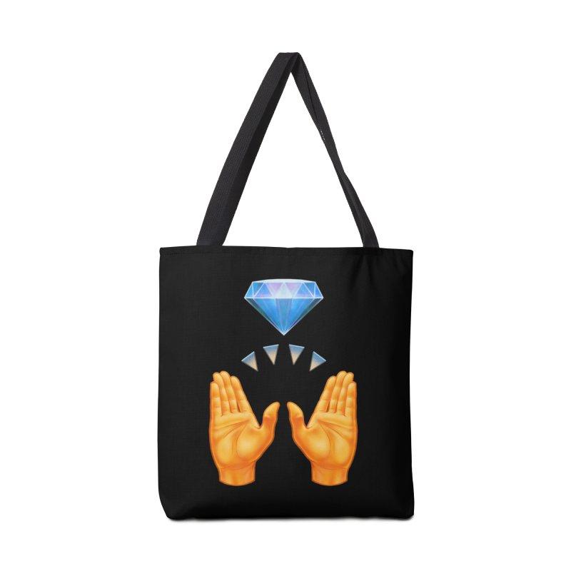 Diamond Hands Accessories Bag by Tato