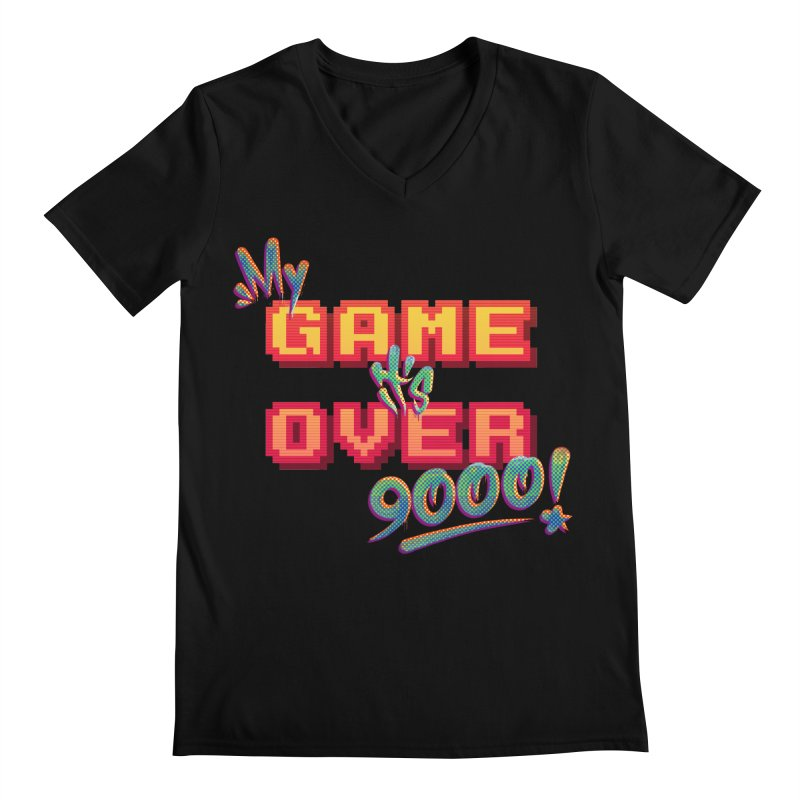 It's Over 9000! All Gender V-Neck by Tato