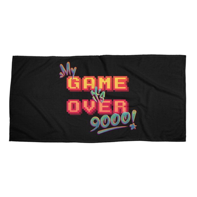 It's Over 9000! Accessories Beach Towel by Tato