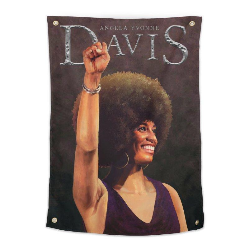 Angela Davis Art & Home Tapestry by Tato