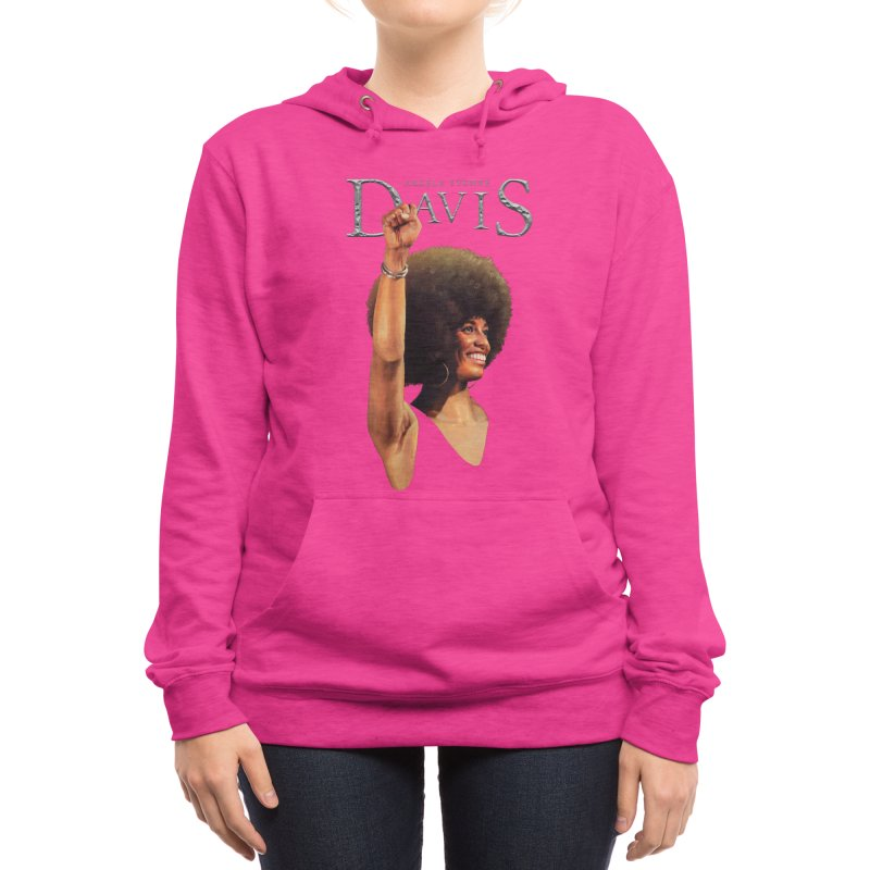 Angela Davis Women's Pullover Hoody by Tato