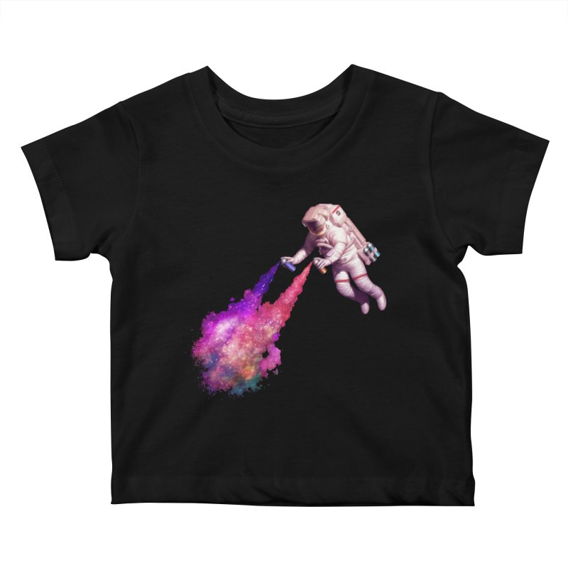 Shooting Stars - The Astronaut artist Youth Baby T-Shirt by Tato