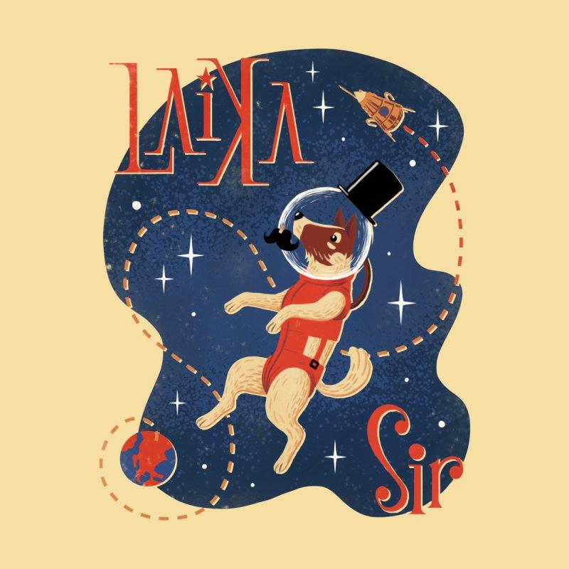 Laika Sir Youth Longsleeve T-Shirt by Tato