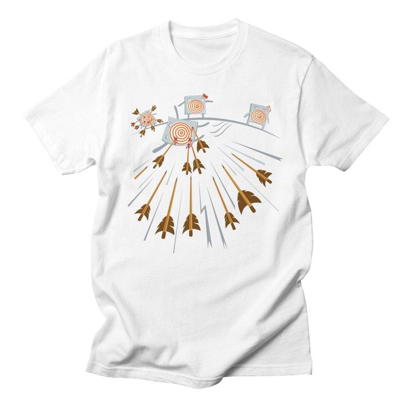 Hero Men's T-shirt by Tauvikel