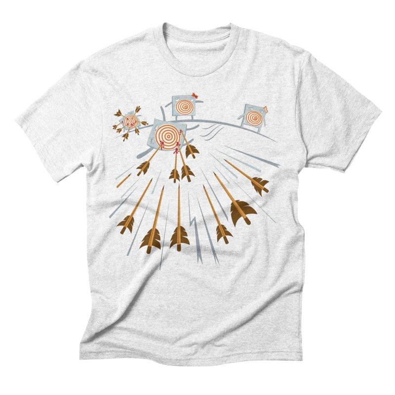 Hero Men's Triblend T-shirt by Tauvikel