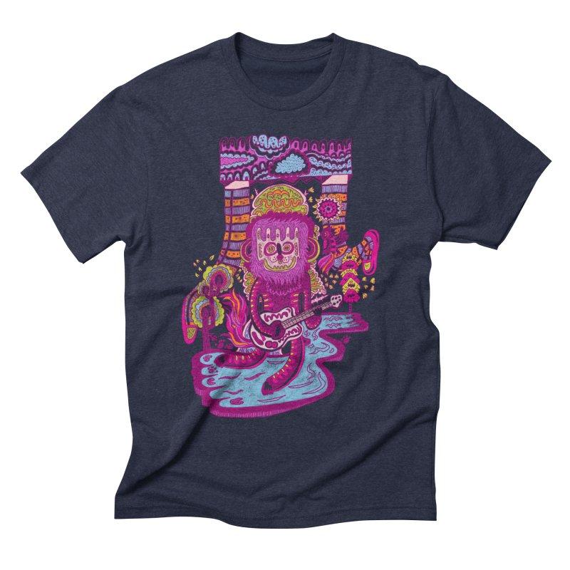 Hip Hura Men's Triblend T-shirt by Tauvikel