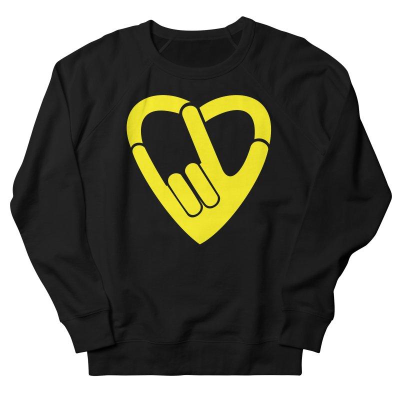 Rock Your Love Men's Sweatshirt by Tauvikel