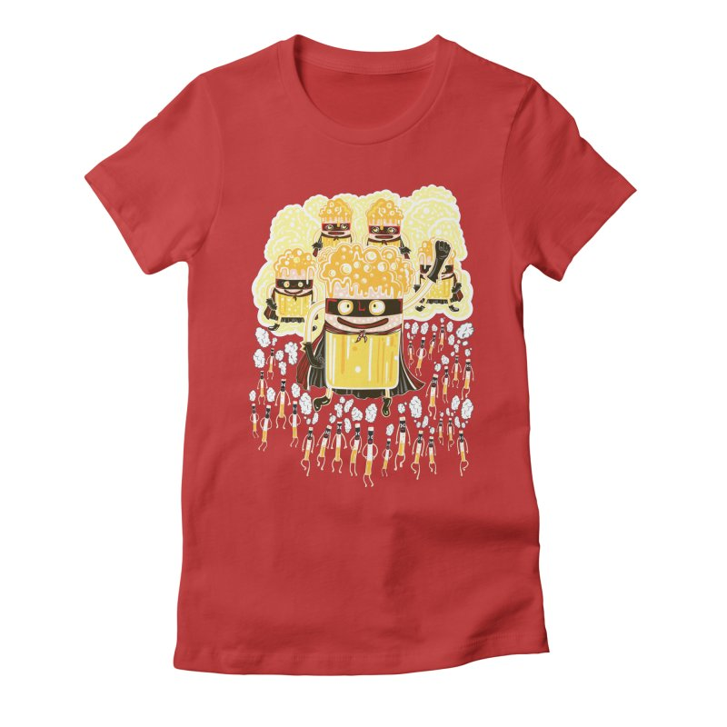 Stress Heroes Women's Fitted T-Shirt by Tauvikel