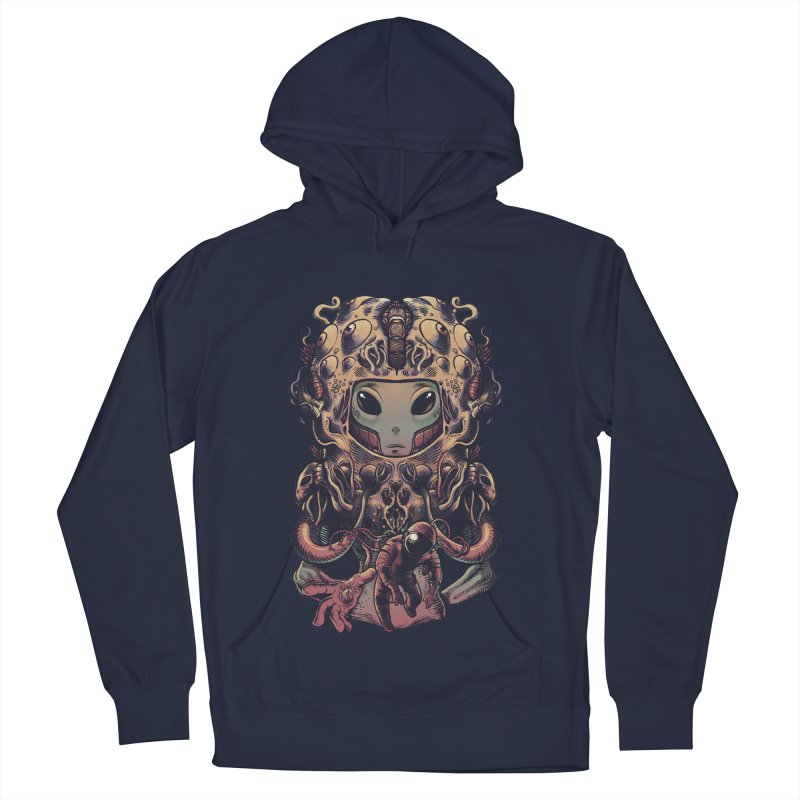 Alien Women's French Terry Pullover Hoody by tavosantiago Shop