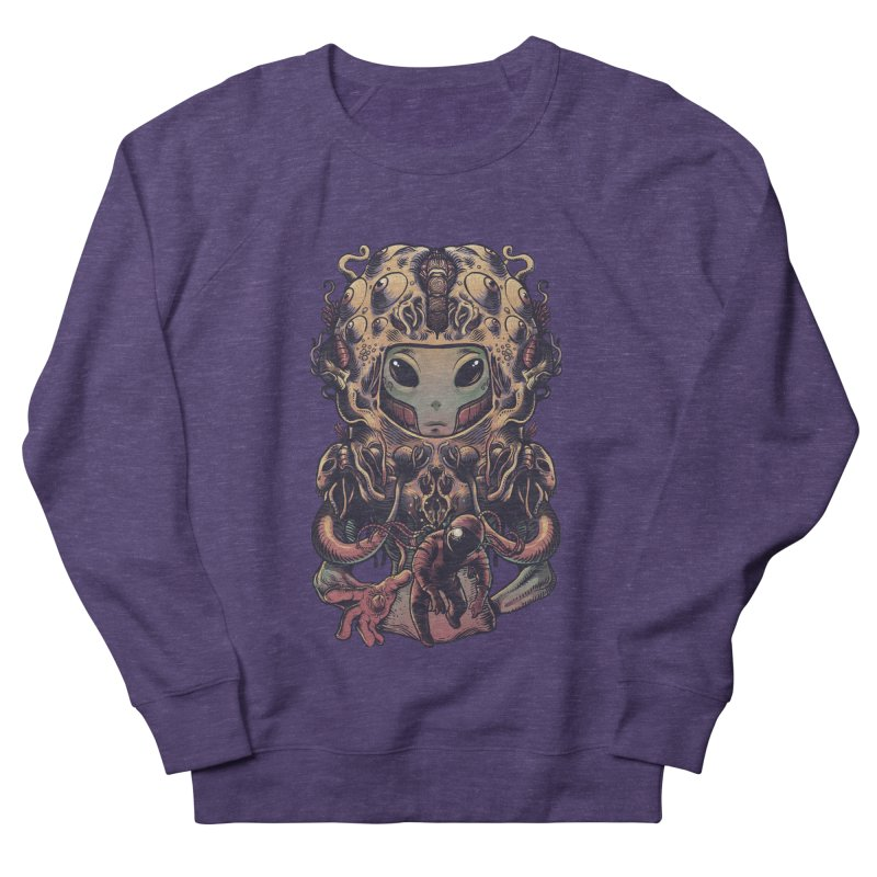 Alien Men's French Terry Sweatshirt by tavosantiago Shop