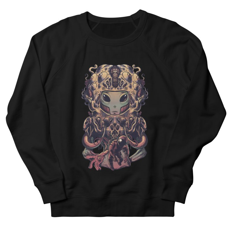 Alien Men's French Terry Sweatshirt by tavosantiago Shop