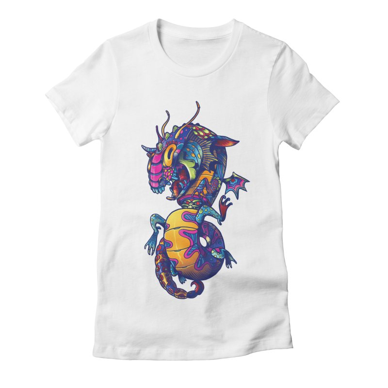 Mexican culture -  Alebrije Women's Fitted T-Shirt by tavosantiago Shop