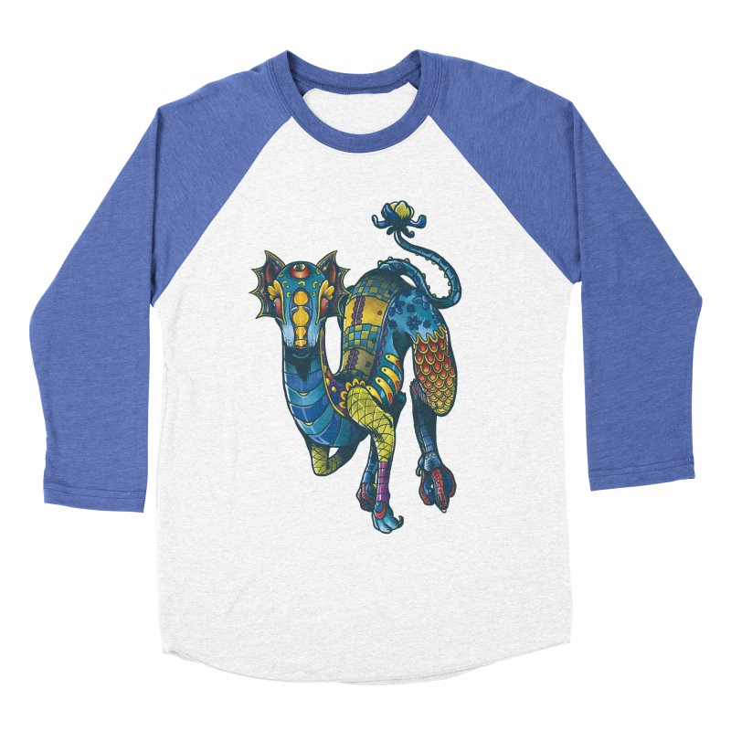 Mexican Culture - Alebrije 2 Men's Baseball Triblend T-Shirt by tavosantiago Shop