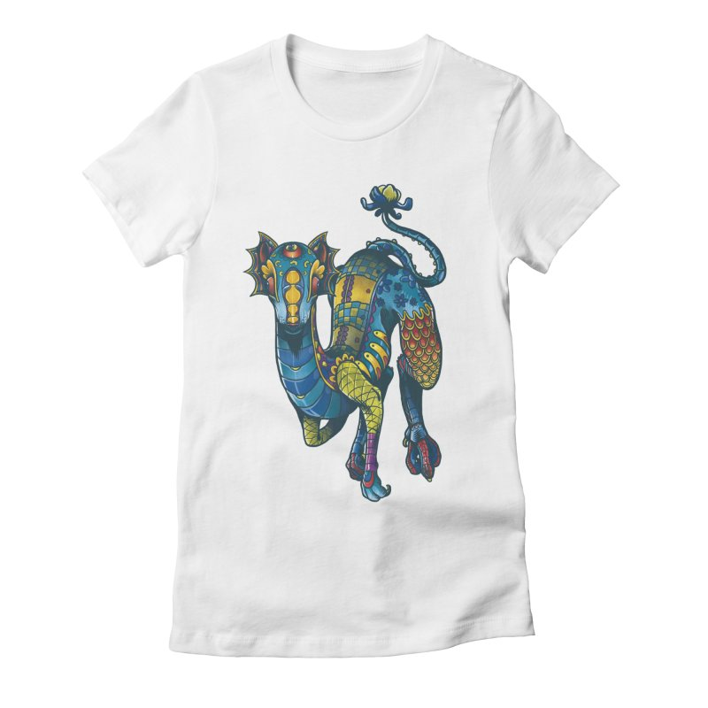 Mexican Culture - Alebrije 2 Women's Fitted T-Shirt by tavosantiago Shop