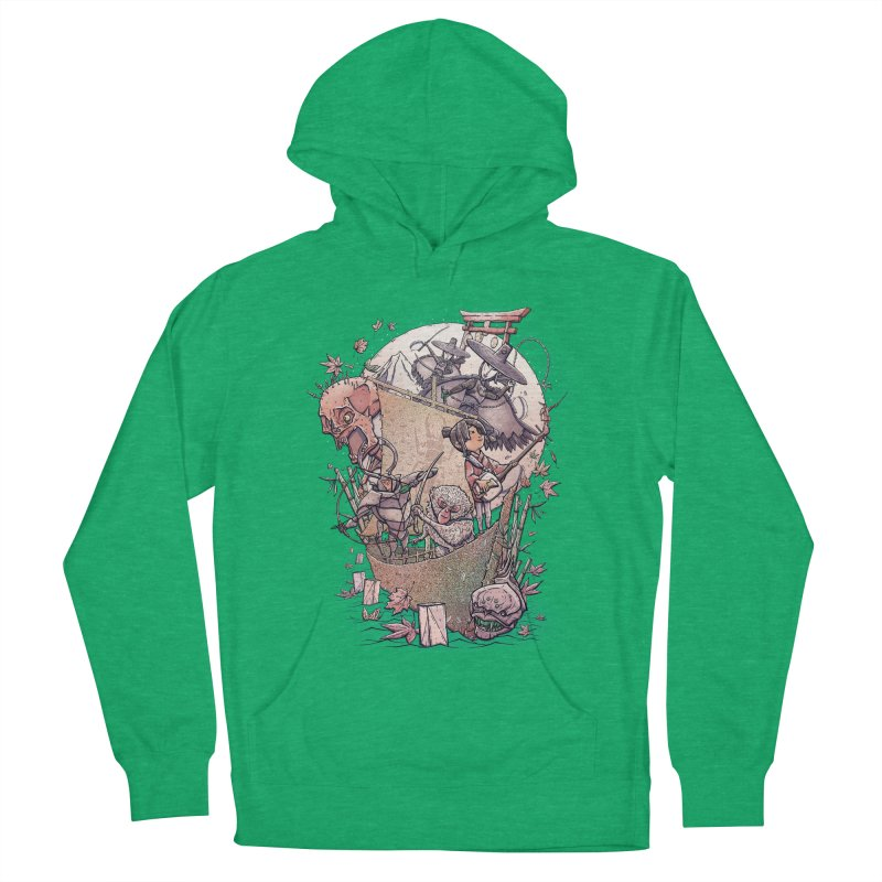 Kubo's Legend Women's Pullover Hoody by Taylor Rose Makes Art