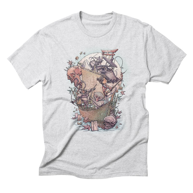 Kubo's Legend Men's Triblend T-Shirt by Taylor Rose Makes Art