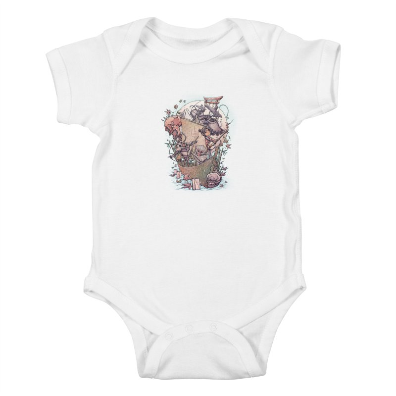 Kubo's Legend Kids Baby Bodysuit by Taylor Rose Makes Art