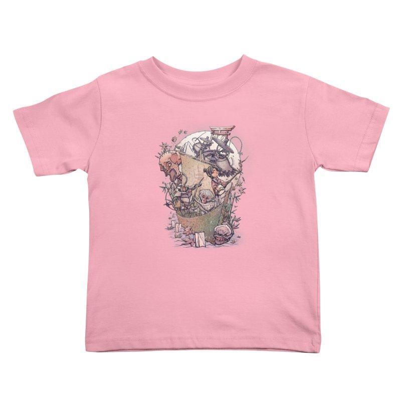 Kubo's Legend Kids Toddler T-Shirt by Taylor Rose Makes Art