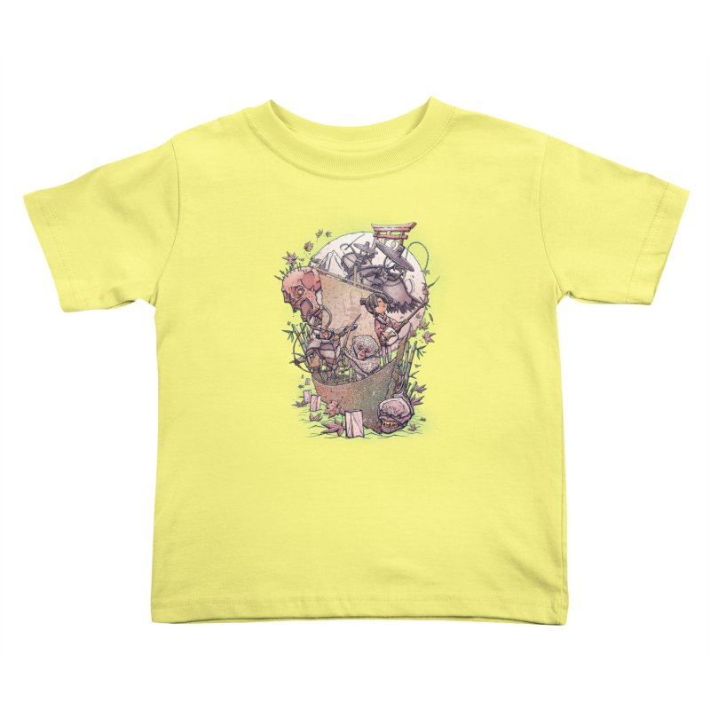 Kubo's Legend Kids Toddler T-Shirt by Taylor Rose Makes Art