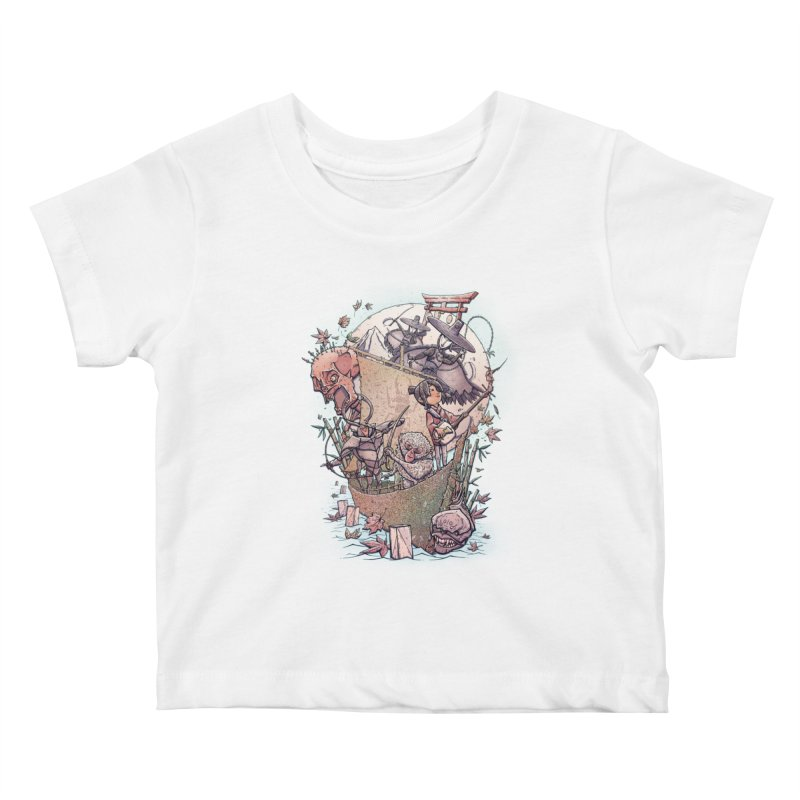 Kubo's Legend Kids Baby T-Shirt by Taylor Rose Makes Art
