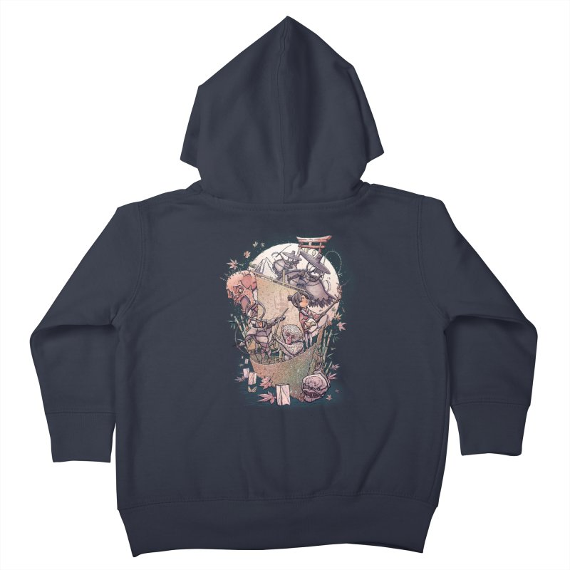Kubo's Legend Kids Toddler Zip-Up Hoody by Taylor Rose Makes Art