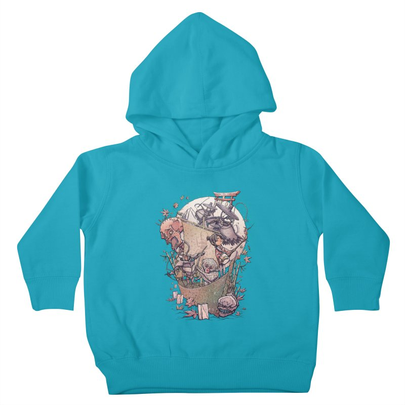 Kubo's Legend Kids Toddler Pullover Hoody by Taylor Rose Makes Art