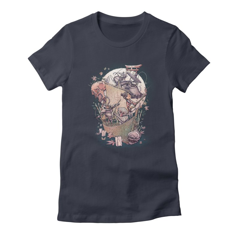 Kubo's Legend Women's Fitted T-Shirt by Taylor Rose Makes Art
