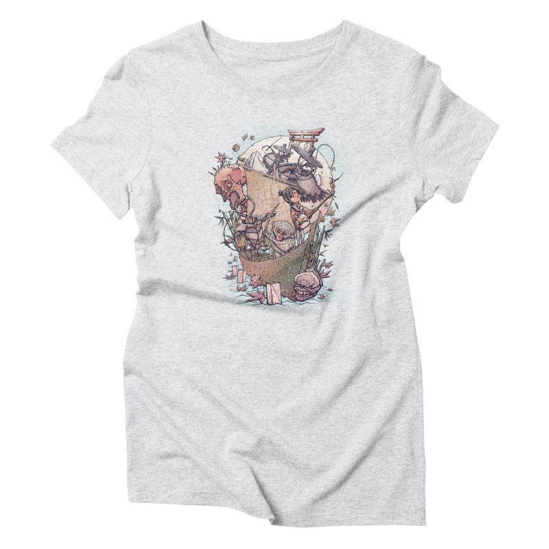 Kubo's Legend Women's Triblend T-Shirt by Taylor Rose Makes Art