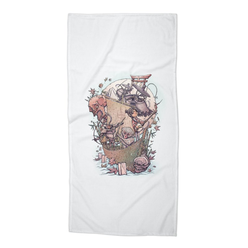 Kubo's Legend Accessories Beach Towel by Taylor Rose Makes Art