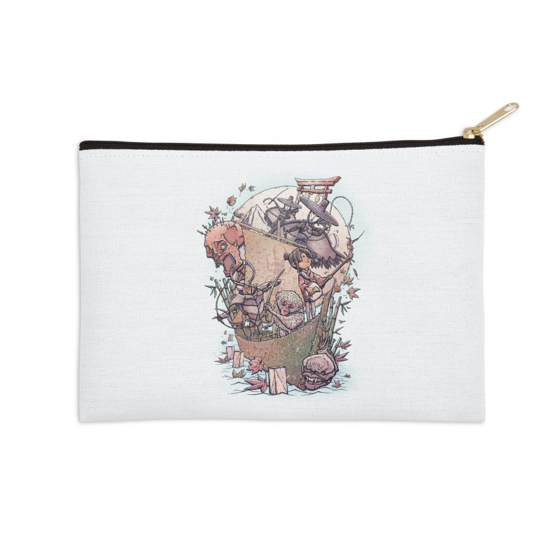 Kubo's Legend Accessories Zip Pouch by Taylor Rose Makes Art