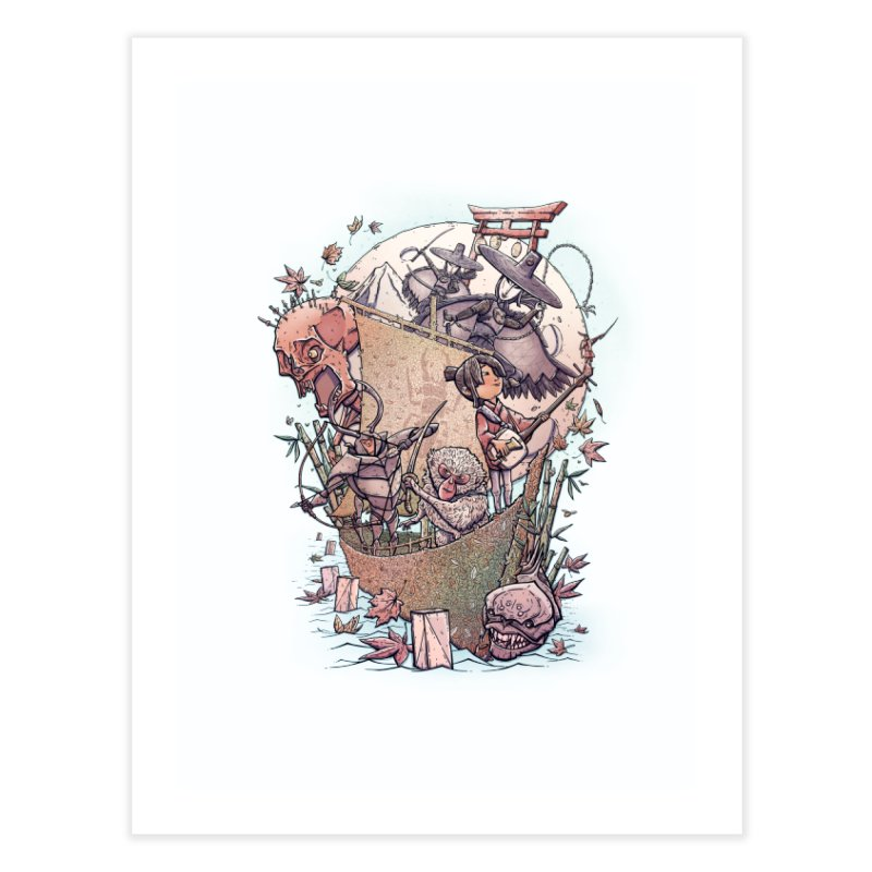 Kubo's Legend Home Fine Art Print by Taylor Rose Makes Art