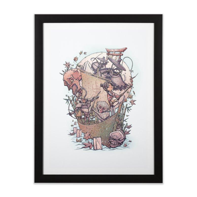 Kubo's Legend Home Framed Fine Art Print by Taylor Rose Makes Art