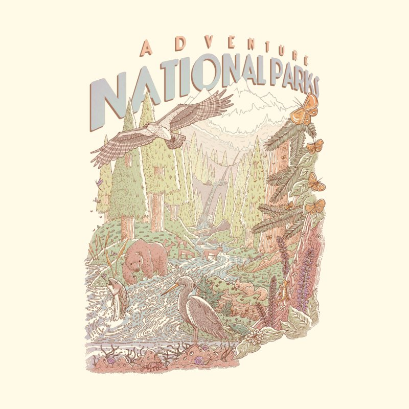 Adventure National Parks by Taylor Rose Makes Art