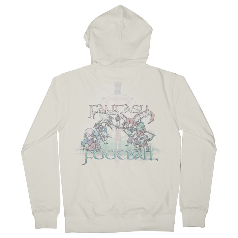 Fantasy Football Women's Zip-Up Hoody by Taylor Rose Makes Art