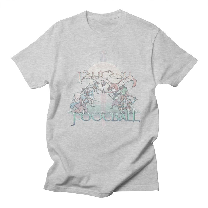 Fantasy Football Men's T-shirt by Taylor Rose Makes Art