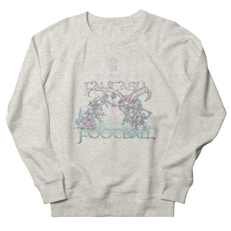 Fantasy Football Women's Sweatshirt by Taylor Rose Makes Art