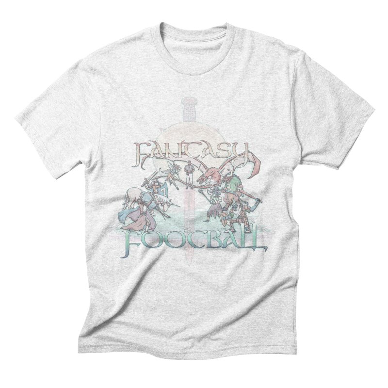 Fantasy Football Men's Triblend T-shirt by Taylor Rose Makes Art