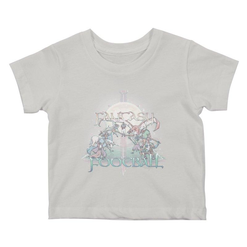 Fantasy Football Kids Baby T-Shirt by Taylor Rose Makes Art