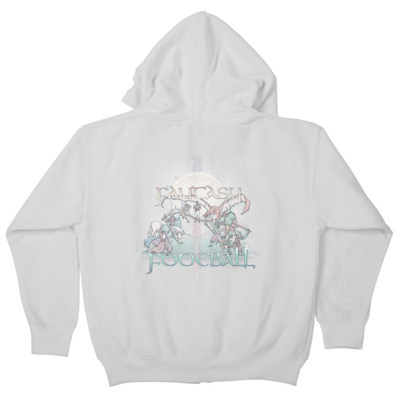 Fantasy Football Kids Zip-Up Hoody by Taylor Rose Makes Art