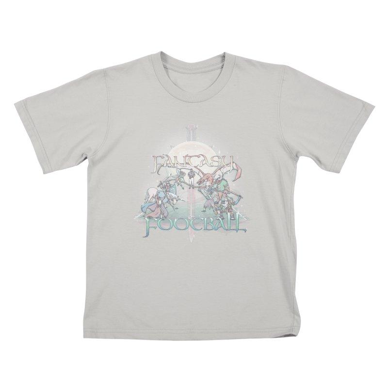 Fantasy Football Kids T-Shirt by Taylor Rose Makes Art